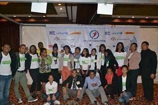 Photos des volontaires pendant RSE