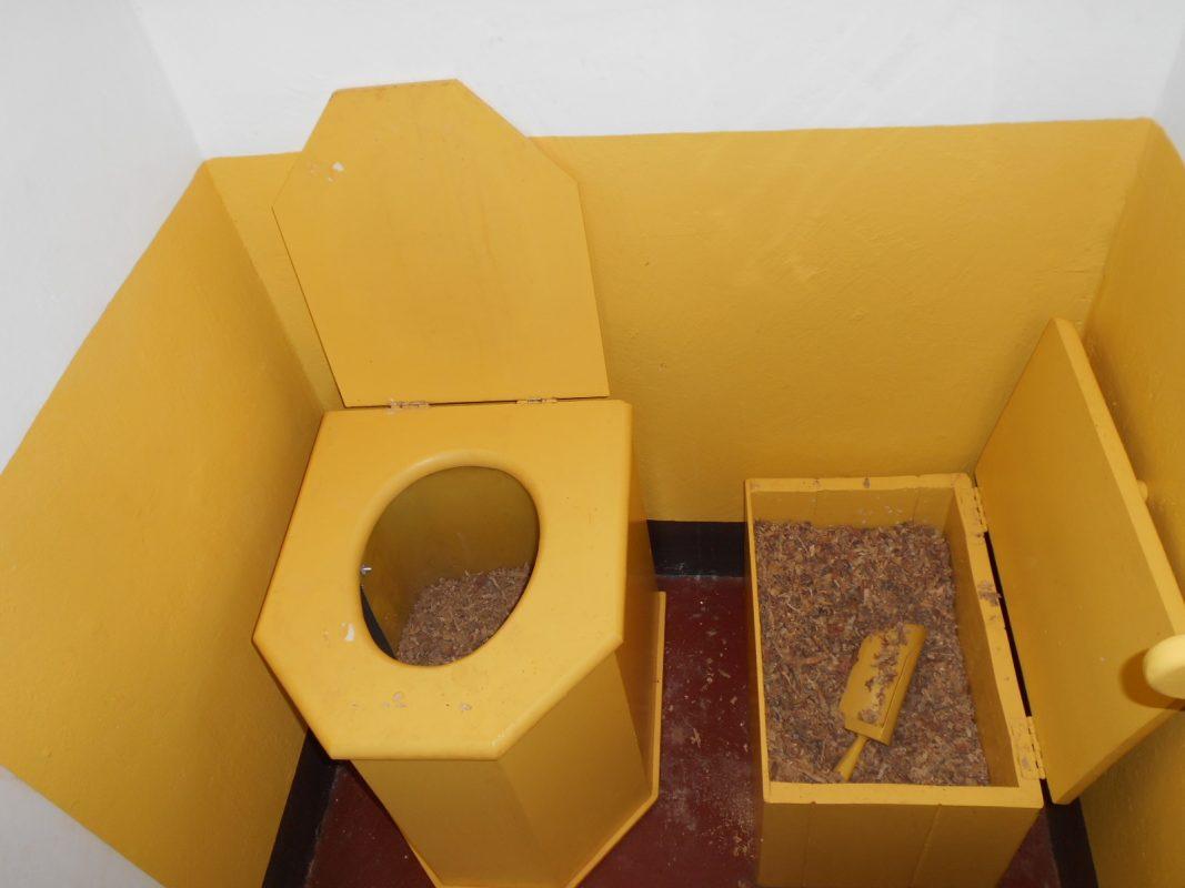 Toilettes sèches à Tsaratanana